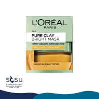 Loreal Paris Pure Clay Bright Face Mask - 50 ml