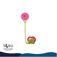 Cover Pacifier With Chain Of Various Shapes Baby Zone
