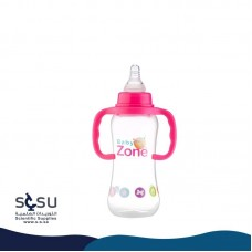 Feeding bottle, 250 ml, two-handed glass Baby Zone