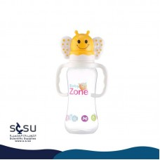 Feeding Bottle 250 ml Baby Zone Anti-colic with high quality teat