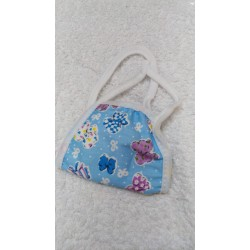 Face Mask - Double Layered Cotton- Reusable / Washable -  For Kids - 1 Mask S01